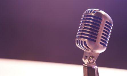 Mikrofon, který s oblibou používal Karel Gott.